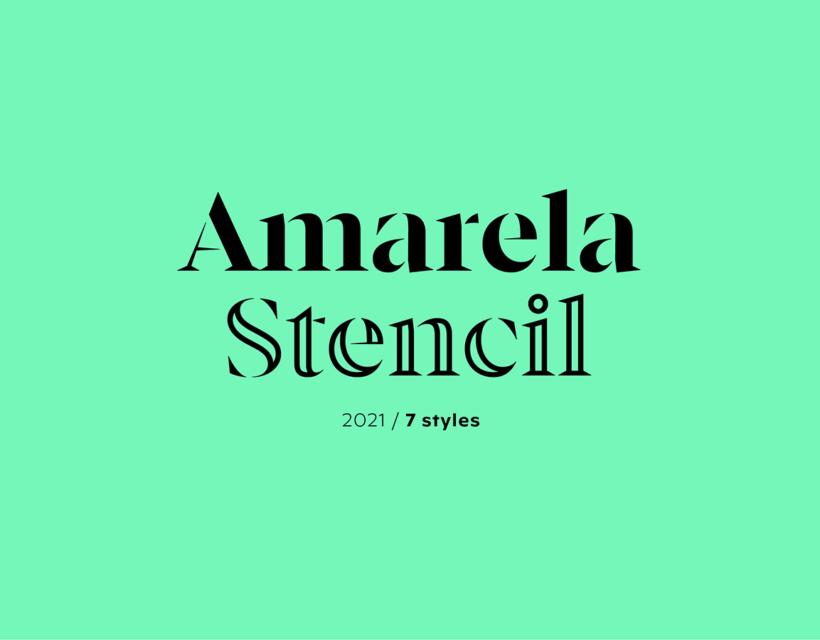 Amarela Stencil
